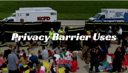 Privacy Barrier Uses